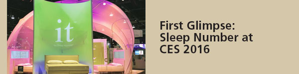 Featured at NRF and CES: Sleep Number